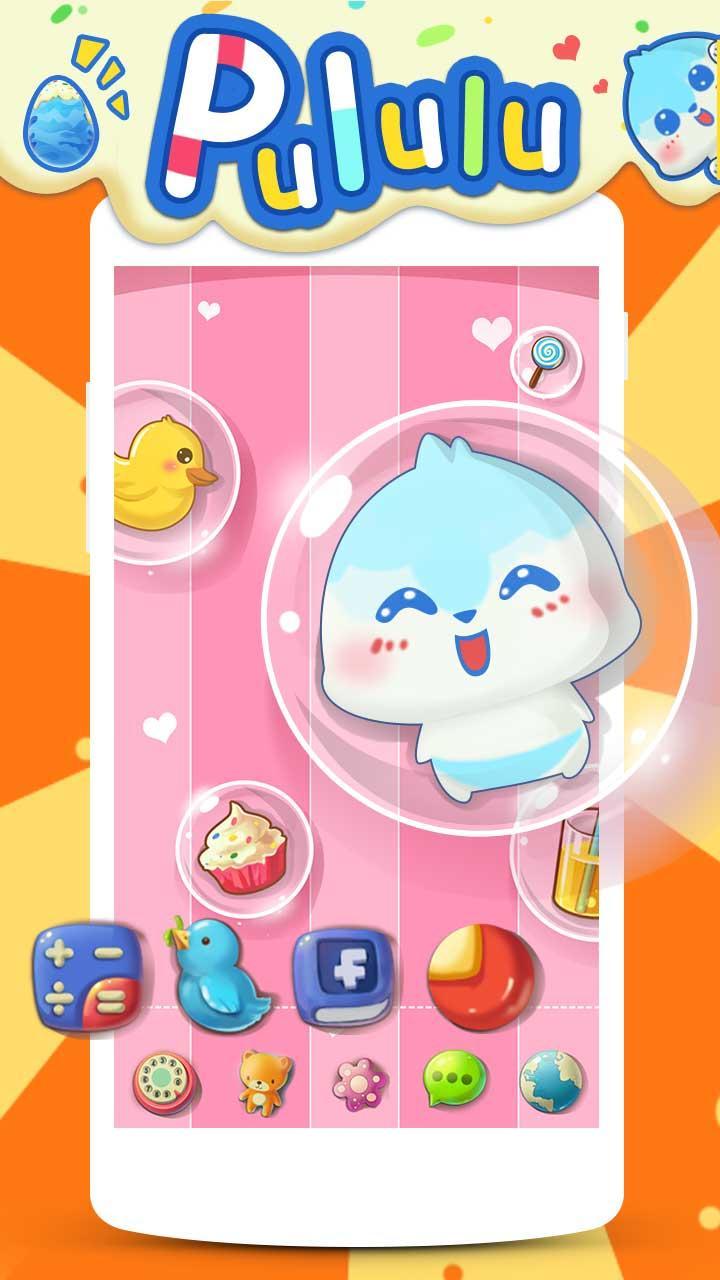 Скриншот Pululu GO Launcher Theme