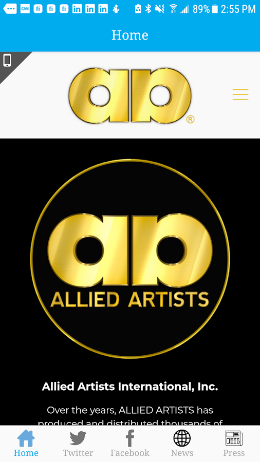 Allied Artists Mobile- screenshot