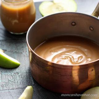Homemade Low Carb Caramel Sauce