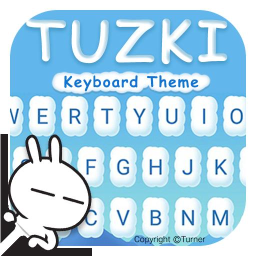 Crazy TUZKI Theme&Emoji Keyboard (Authorized)