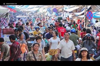 Photo: Main food markets Vientiane, Laos.http://youtu.be/w__Ok4Ou40w