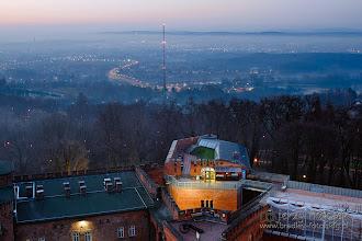 Photo: Świt nad Krakowem z Kopca Kościuszki