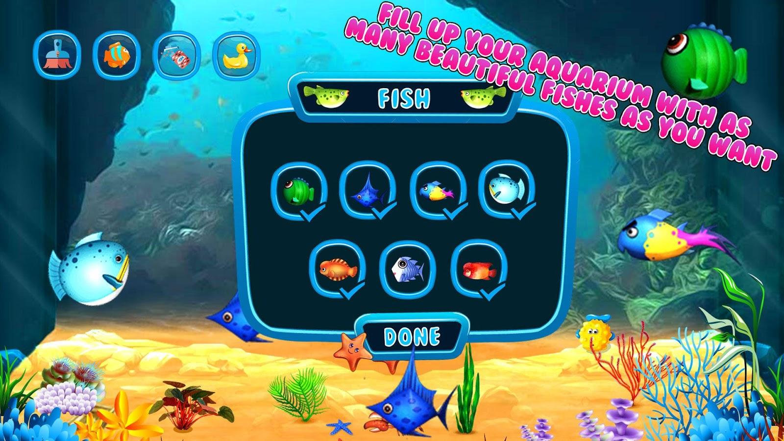 Fish aquarium business - My Fish Aquarium Fish Care Screenshot