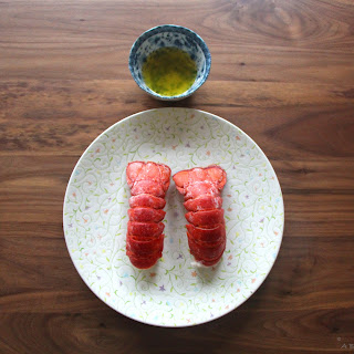 Lobster Tails with Truffle Salt Butter Recipe