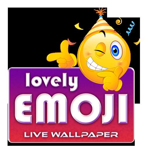 Lovely Emoji Live wallpaper