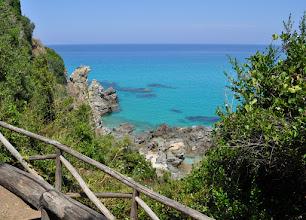 Photo: Zambrone,Calabria,Italy - Percorso per raggiungere la Marinella.