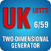 Lotto Winner for UK Lotto 6/59 Icon