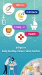 screenshot of Baby Care - Newborn Feeding, Diaper, Sleep Tracker