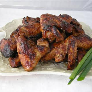 Asian Baked Chicken Wings.