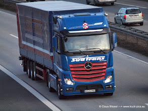 Photo: NEW ACTROS  SÜDTRANS ----->   just take a look and enjoy www.truck-pics.eu