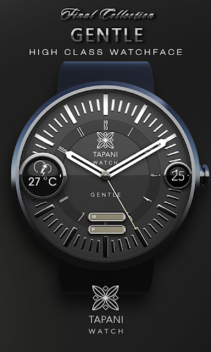 GENTLE weather wear watch face