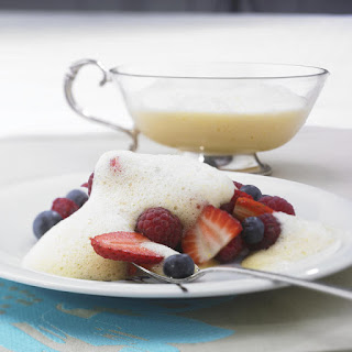 Summer Berries with Zabaglione