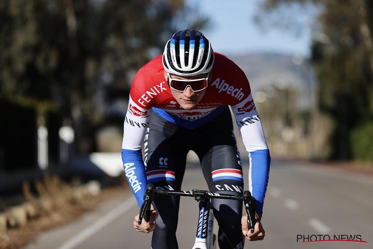 """Mathieu van der Poel niet meer in UAE Tour, maar zal hij dan deelnemen aan de Omloop Het Nieuwsblad? """"Hij kan starten als hij voldoet aan het protocol van de UCI en onze federatie"""""""