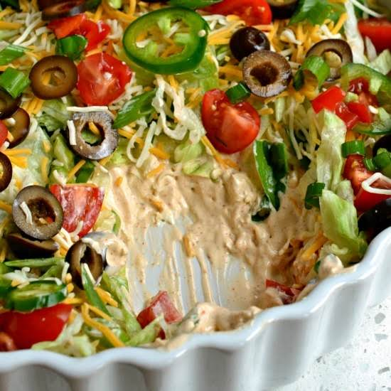Easy Taco Dip image