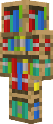 Bücherregale Minecraft bücherregal skin
