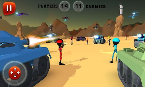 Creepy Aliens Battle Simulator 3D 2