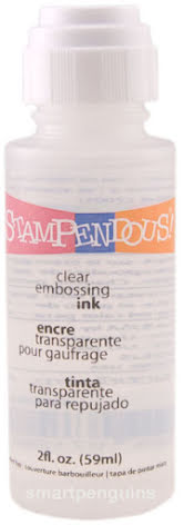 Stampendous Stamp-N Stuff Boss Gloss Embossing Ink 59ml - Clear