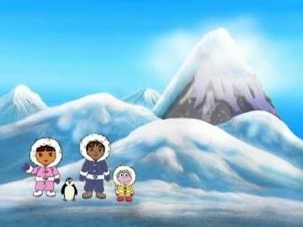 Die Reise zum Südpol