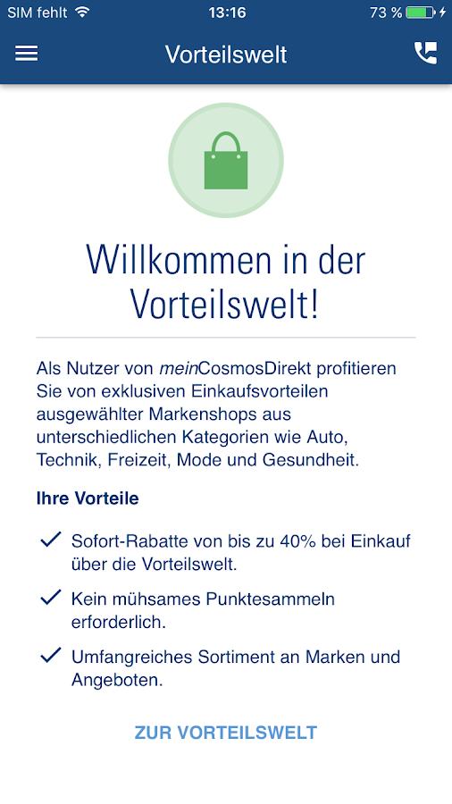 meinCosmosDirekt – Android-Apps auf Google Play