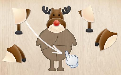 Free Christmas Puzzle for Kids u2603ufe0fud83cudf84ud83cudf85 3.0.1 screenshots 1