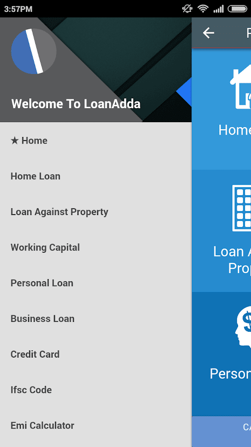LoanAdda- screenshot