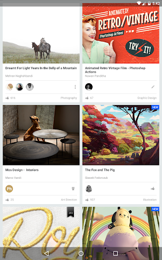 Behance 6.2.3 Apk for Android 11