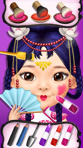 Pretty Little Princess - Dress Up, Hair & Makeup apkpoly screenshots 5