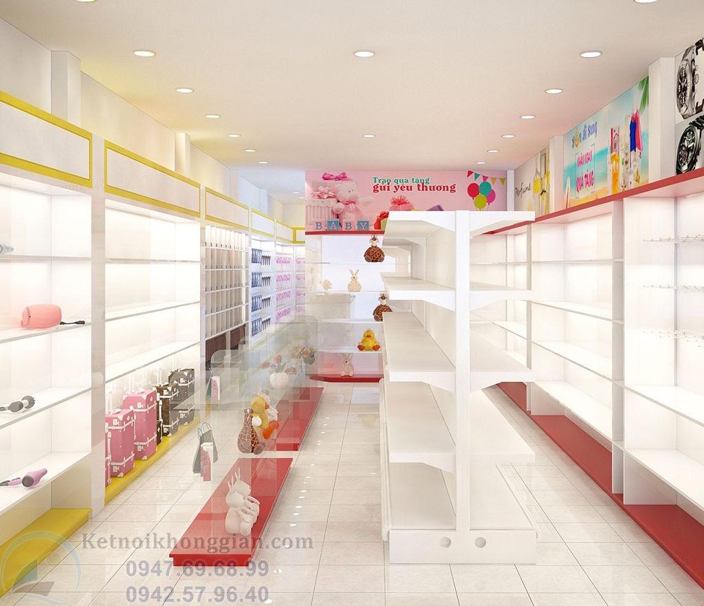 thiết kế cửa hàng tạp hóa khác biệt tại lai châu