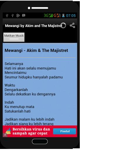 Mewangi - Akim The Majistret