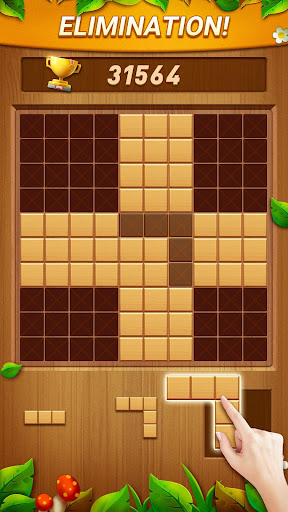 Wood Block Puzzle - Free Classic Block Puzzle Game filehippodl screenshot 4