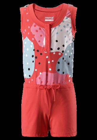 Reima Sommersault 536282-3340 Bright Red heldrakt/jumpsuit