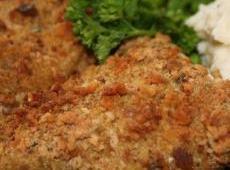 Crunchy Herbed Chicken Breasts Recipe