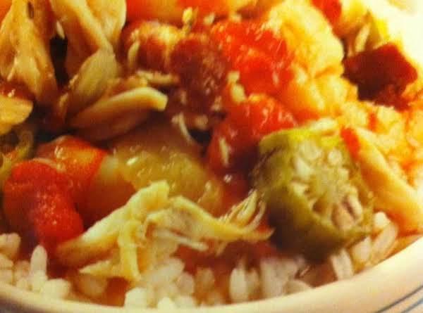 Slow-cooker Seafood Gumbo