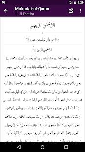 Mufradat-ul-Quran - Arabic with Urdu Translation - náhled