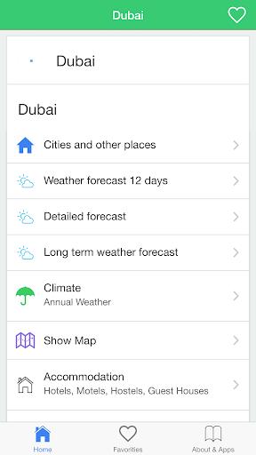 迪拜天气,旅行
