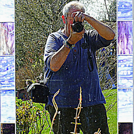 Reflection Of Myself  by Ian Popple - People Portraits of Men ( mirror, reflection, myself, camera,  )
