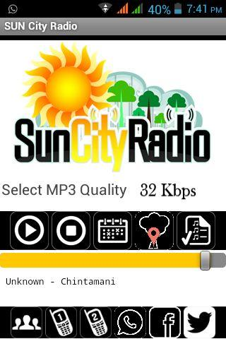 SUN City Radio - Telugu- screenshot