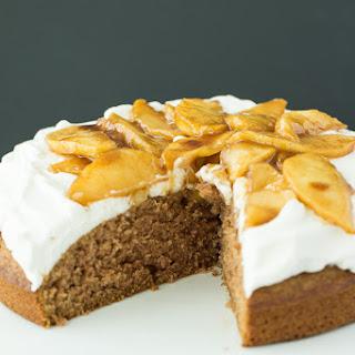 Apple Spice Cake (Reduced Sugar).