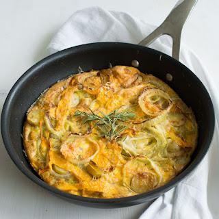 Butternut Squash and Rosemary Frittata Recipe