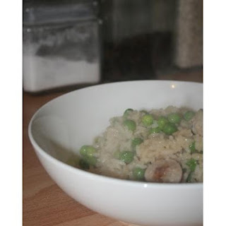 Sausage and Pea Risotto