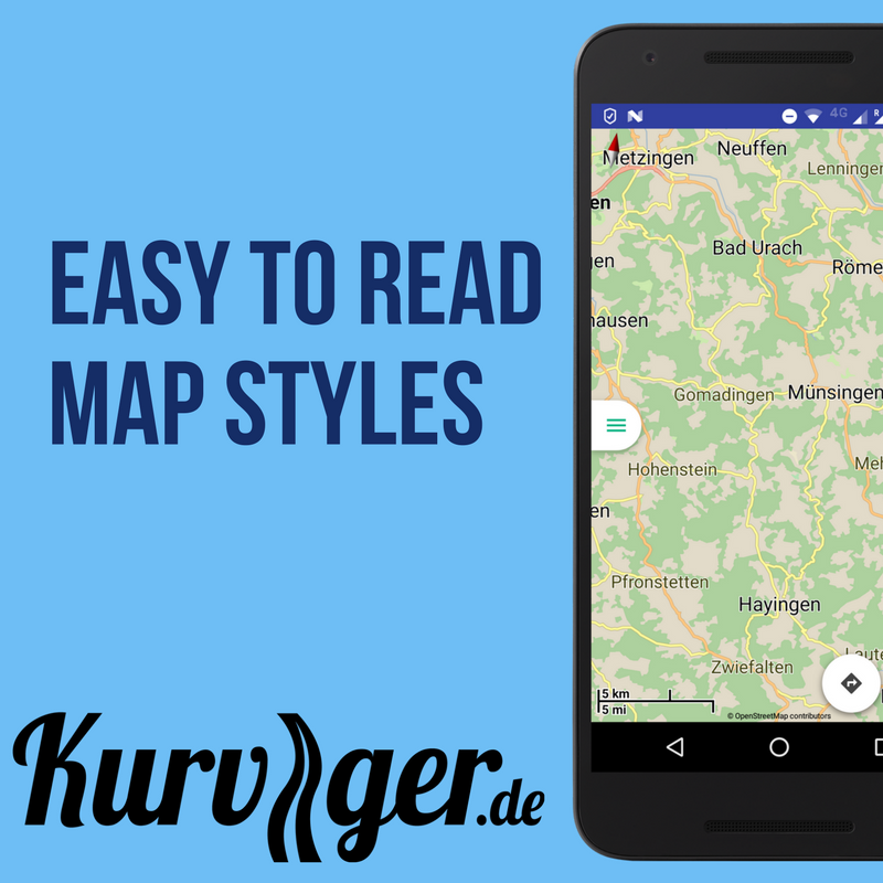Kurviger - Motorcycle Navi- screenshot