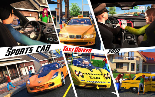 Yellow Cab American Taxi Driver 3D: New Taxi Games  screenshots 11
