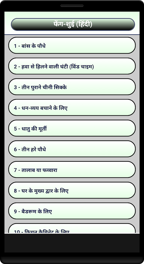 Feng Shui Hindi Android Apps on Google Play
