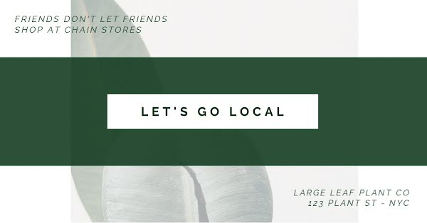 Let's Go Local - Facebook Event Cover Template