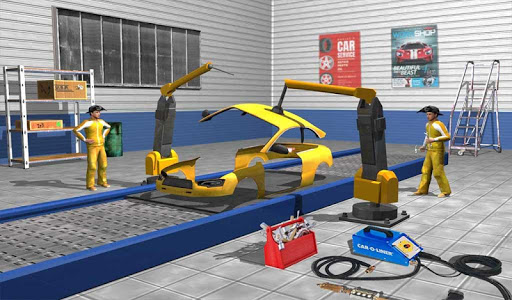 Car Maker Factory Mechanic Sport Car Builder Games 1.12 screenshots 19