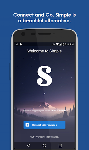 Simple Free for Facebook & more 8.0.2 screenshots 1