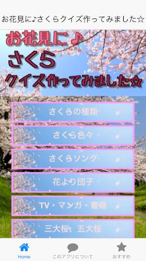 合コン・飲み会・お花見に!春の雑学豆知識「さくらクイズ」