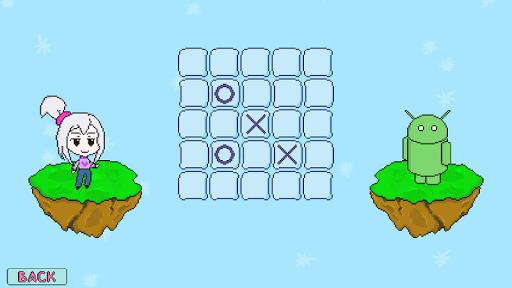 Pixel Tic Tac Toe