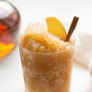 Apple Cider Bourbon Slush.