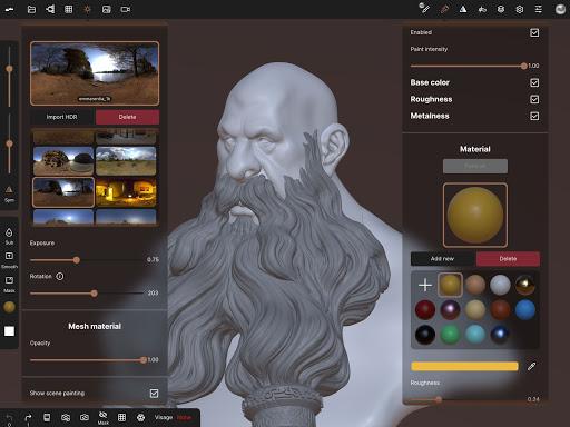 Nomad Sculpt screenshots 14